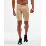 2XU Men's TR2 Compression Shorts - BEIGE 2XU Men's TR2 Compression Shorts - BEIGE