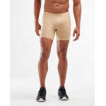 2XU Men's TR2 Compression 1/2 Shorts - BEIGE/BEIGE 2XU Men's TR2 Compression 1/2 Shorts - BEIGE/BEIGE