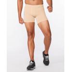 2XU Men's TR2 Compression 1/2 Shorts - BEIGE/BEIGE 2XU Men's TR2 Compression 1/2 Shorts - BEIGE/BEIGE