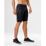 2XU Men's TR2 Compression Shorts - BLACK/NERO 2XU Men's TR2 Compression Shorts - BLACK/NERO