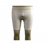SFIDA Mens Performance Compression 1/4 Short - BEIGE SFIDA Mens Performance Compression 1/4 Short - BEIGE