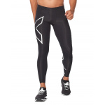 2XU Men's TR2 Compression Tights - Black/Silver 2XU Men's TR2 Compression Tights - Black/Silver