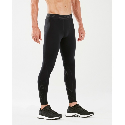 2XU Men's Thermal Accelerate Compression Tight - BLACK/NERO