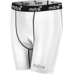 Mitre Men's Neutron Compression Shorts - WHITE Mitre Men's Neutron Compression Shorts - WHITE