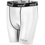 Mitre Men's Neutron Compression Shorts - WHITE Mitre Men's Neutron Compression Shorts - WHITE