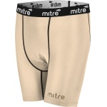Mitre Men's Neutron Compression Shorts - BEIGE Mitre Men's Neutron Compression Shorts - BEIGE