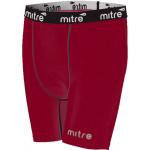 Mitre Mens Neutron Compression Shorts - MAROON Mitre Mens Neutron Compression Shorts - MAROON