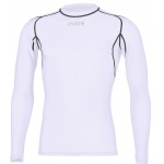 Mitre Men's Neutron Long Sleeve Compression Top - WHITE Mitre Men's Neutron Long Sleeve Compression Top - WHITE