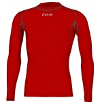 Mitre Men's Neutron Long Sleeve Compression Top - SCARLET Mitre Men's Neutron Long Sleeve Compression Top - SCARLET