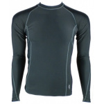 SFIDA Mens Performance Compression Long Sleeve Top - BLACK SFIDA Mens Performance Compression Long Sleeve Top - BLACK