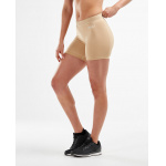 2XU Womens Compression 5-inch Game Day Short - Beige 2XU Womens Compression 5-inch Game Day Short - Beige