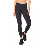2XU Women's Mid Rise Compression Long Tight - Black/Dotted Black 2XU Women's Mid Rise Compression Long Tight - Black/Dotted Black