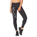 2XU Women's TR2 Compression Tights - Black/Silver 2XU Women's TR2 Compression Tights - Black/Silver