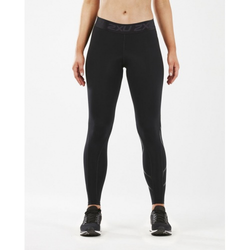54f90bbc69 2XU Women's Thermal Accelerate Compression Tight - BLACK/NERO   Sportsmart    Melbourne's largest sports warehouses