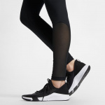 Image 3: Nike Womens Pro Tights - BLACK
