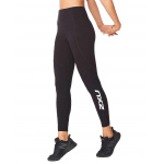 2XU Womens Fitness New Heights Compression Long Tight - BLACK/WHITE 2XU Womens Fitness New Heights Compression Long Tight - BLACK/WHITE