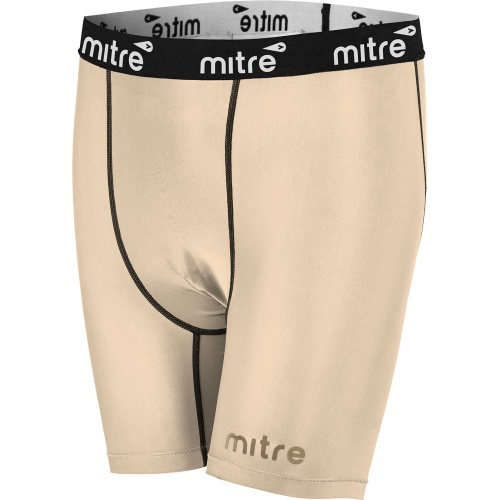 MITRE Youth's NEUTRON COMPRESSION SHORTS - BEIGE
