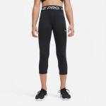 Nike Girls Pro Capri Leggings - BLACK/WHITE Nike Girls Pro Capri Leggings - BLACK/WHITE