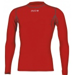 Mitre Youth Neutron Compression Long Sleeve Top - Scarlett Mitre Youth Neutron Compression Long Sleeve Top - Scarlett