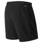 Image 2: New Balance Men's Accelerate 7-inch Running Short - BLACK