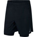Nike Men's Challenger 7-inch 2-in-1 Running Short - BLACK/BLACK Nike Men's Challenger 7-inch 2-in-1 Running Short - BLACK/BLACK
