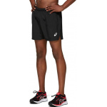 ASICS Mens SILVER 5-inch Running Short - BLACK ASICS Mens SILVER 5-inch Running Short - BLACK