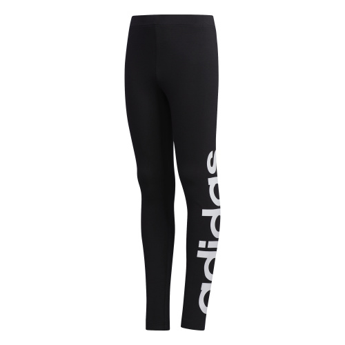 Adidas Girls Logo Tight - Black/White