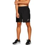 ASICS Mens SILVER 7-inch Running Short - BLACK ASICS Mens SILVER 7-inch Running Short - BLACK