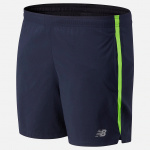 New Balance Mens Accelerate 5-Inch Running Short - Energy Lime New Balance Mens Accelerate 5-Inch Running Short - Energy Lime