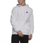 Adidas Mens Feelcozy Hoody - WHITE ADIDAS FEELCOZY HOODY (M)