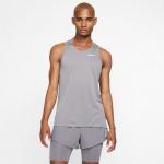 Nike Men's Dri-Fit Miler Running Singlet - GUNSMOKE/ATMOSPHERE GREY Nike Men's Dri-Fit Miler Running Singlet - GUNSMOKE/ATMOSPHERE GREY