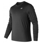 New Balance Men's Accelerate Long Sleeve Running Tee - BLACK New Balance Men's Accelerate Long Sleeve Running Tee - BLACK