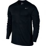 Nike Men's Dry Legend Long Sleeve Training Top - BLACK/MATTE SILVER - MAY 19 Nike Men's Dry Legend Long Sleeve Training Top - BLACK/MATTE SILVER - MAY 19