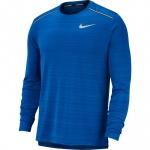 Nike Men's DRi-FIT Miler Long-Sleeve Running Top - INDIGO FORCE/BLUE VOID Nike Men's DRi-FIT Miler Long-Sleeve Running Top - INDIGO FORCE/BLUE VOID