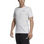 Adidas Men's Essentials Plain Tee - WHITE Adidas Men's Essentials Plain Tee - WHITE