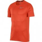 Nike Men's Breathe Running Top - TEAM ORANGE/REFLECTIVE SILVER Nike Men's Breathe Running Top - TEAM ORANGE/REFLECTIVE SILVER