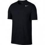 Nike Men's DRI-FIT Solid Crew Tee - BLACK/WHITE Nike Men's DRI-FIT Solid Crew Tee - BLACK/WHITE