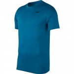 Nike Men's DRI-FIT Solid Crew Tee - GREEN ABYSS/LT BLUE FURY - MAY 19 Nike Men's DRI-FIT Solid Crew Tee - GREEN ABYSS/LT BLUE FURY - MAY 19