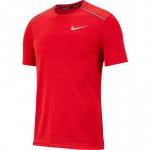 Nike Men's Dri-Fit Miler Running Top - UNIVERSITY RED/REFLECTIVE SILVER Nike Men's Dri-Fit Miler Running Top - UNIVERSITY RED/REFLECTIVE SILVER