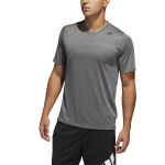 Adidas Mens FreeLift Tech Climacool Fitted Tee - Grey Three/Heather Adidas Mens FreeLift Tech Climacool Fitted Tee - Grey Three/Heather