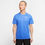 Nike Men's Dri-Fit Miler Running Top - PACIFIC BLUE/HTR Nike Men's Dri-Fit Miler Running Top - PACIFIC BLUE/HTR