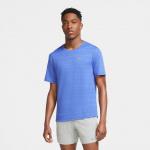 Nike Mens Dri-Fit Miler Running Top - ASTRONOMY BLUE/REFLECTIVE SILVER Nike Mens Dri-Fit Miler Running Top - ASTRONOMY BLUE/REFLECTIVE SILVER