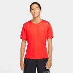 Nike Mens Miler Run Divison Running Top - CHILE RED/REFLECTIVE SILVER Nike Mens Miler Run Divison Running Top - CHILE RED/REFLECTIVE SILVER