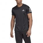 Adidas Mens Own The Run Tee - BLACK Adidas Mens Own The Run Tee - BLACK