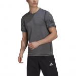 Adidas Mens FreeLift Ultimate Sport Tee - Grey Three Mel/Black Adidas Mens FreeLift Ultimate Sport Tee - Grey Three Mel/Black