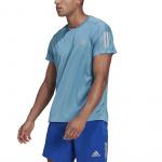 Adidas Mens Own The Run Tee - Hazy Blue Adidas Mens Own The Run Tee - Hazy Blue