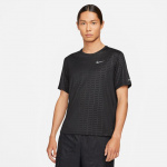 Nike Mens Miler Run Division Top - BLACK/REFLECTIVE SILVER Nike Mens Miler Run Division Top - BLACK/REFLECTIVE SILVER
