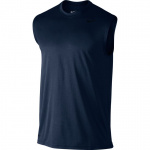 Nike Men's Legend 2.0 Dry Training Sleeveless Running Top - OBSIDIAN/BLACK Nike Men's Legend 2.0 Dry Training Sleeveless Running Top - OBSIDIAN/BLACK