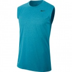 Nike Men's Legend 2.0 Dry Training Sleeveless Running Top - GREEN ABYSS/LT BLUE FURY - MAY 19 Nike Men's Legend 2.0 Dry Training Sleeveless Running Top - GREEN ABYSS/LT BLUE FURY - MAY 19