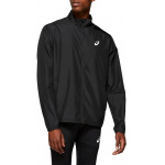 ASICS Mens Silver Running Jacket - Performance Black ASICS Mens Silver Running Jacket - Performance Black